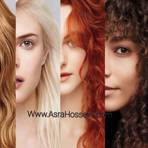 رنگ ها ی گیاهی و طبیعی مو
