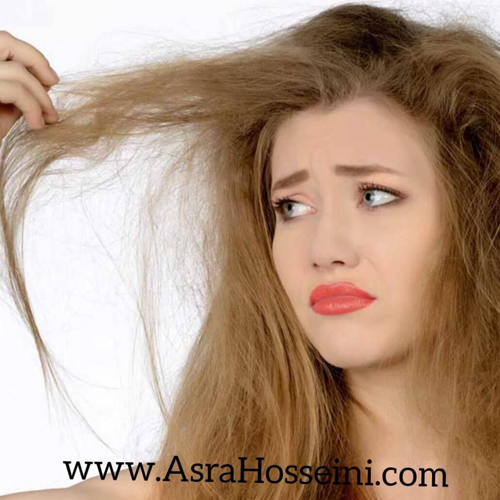 احیای موی آسیب دیده