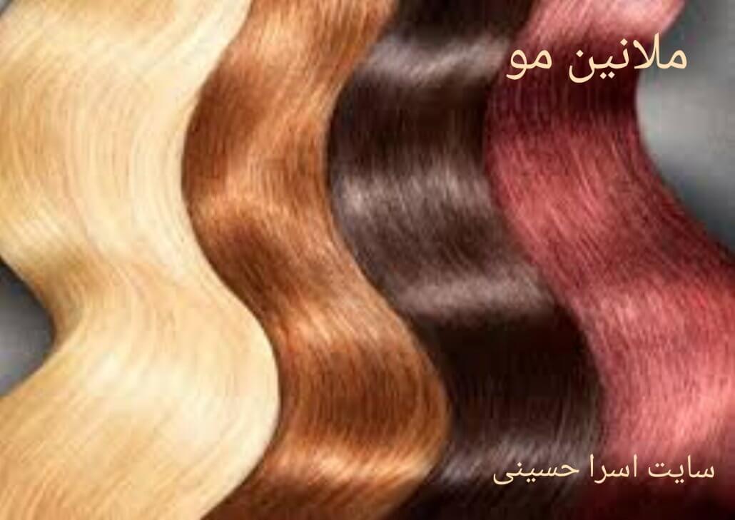 ملانین یا رنگدانه مو